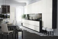 Nieuwe keukensystemen METOD van Ikea. Witte Ikea keuken #keukens #ikea