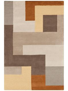 Make a Statement: Colorblock Rugs
