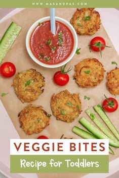 Veggie bites or fritters are a healthy, sneaky way to get your toddler to eat their vegetables, and this recipe takes just 20 minutes to create an easy snack or dinner that your kids will love. The veggie patties combine grated potato, sweet potato, onions, and zucchini that are fried to a golden brown in your skillet. Try them when you need an easy, healthy recipe for your picky eater! #toddlerfood #easytoddlermeals #veggiebites #toddlersnackideas #healthykidsrecipes Finger Foods For Kids, Healthy Finger Foods, Baby Finger Foods, Vegetable Burger Recipe, Veggie Bites, Healthy Toddler Meals, Kids Meals, Healthy Kids, Veggie Patties