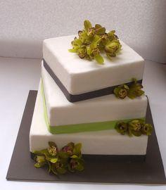 novios-torta-cuadrada-orqui Chocolate, Cake, Desserts, Food, Style, Tortilla Pie, Pastries, Square Cakes, Pies