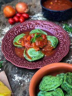Receita de ravioli de espinafre recheado com mussarela de búfala e molho pomodoro – Cookterapia