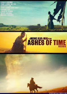 Ashes of Time(1994)  Director: Wong Kar-Wai  Brigitte Lin, Leslie Cheung, Maggie Cheung, Tony Leung Ka-Fai, Tony Leung Chiu-Wai, Carina Lau, Charlie Yeung, Jacky Cheung