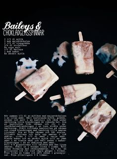 bailey's creamcicles~  can't seem to pin from google translate so you'll need to paste in this link.