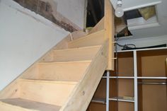 Staircase in place - loft conversion W12