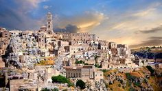 The city of Matera in the southern Italian province of Basilicata - Alamy