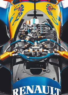 The details of the Active Suspension on the Williams FW14