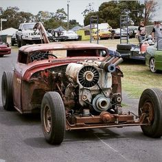 Rat Rods International, Air Cooled Deutz Diesel Engine.