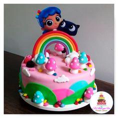 2nd Birthday Party Themes, Rainbow Birthday Party, Third Birthday, Birthday Cake, Deli, First Birthdays, Desserts, Cakes, Baby