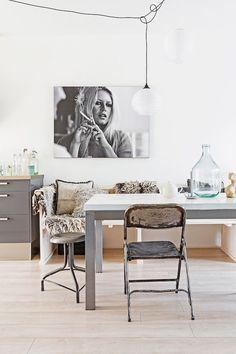 daileyray Inspired: Brigitte BardotA fuss-free and laid back Dutch home