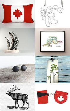 Home by Anita T. on Etsy--Pinned with TreasuryPin.com #canada #greatwhitenorth #happycanadaday Happy Canada Day, Etsy, Home, Ad Home, Homes, House