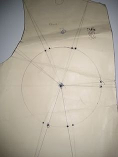 corsetmakers: My method for making a corset with cups Tutorial Part 1: Patterning