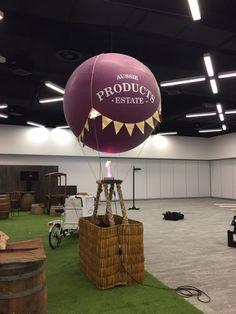 Custom printed 5ft cloudbuster balloon