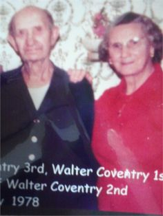 Walter and Elizabeth (Betty) Coventry Coventry, Signs, Movie Posters, Movies, Film Poster, Films, Novelty Signs, Movie, Film