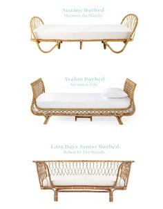 Chicdeco Blog | Vintage Revival: Rattan Daybeds