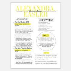 3 Page Resume Service, $83, now featured on Fab.