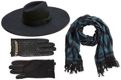 5 Genius Hat-Scarf-and-Glove Combinations That'll Perk Up Your Tired Winter Coat