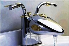 Now this is a faucet!
