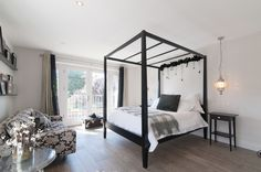 Transitional Bedroom by 50 Degrees North Architects