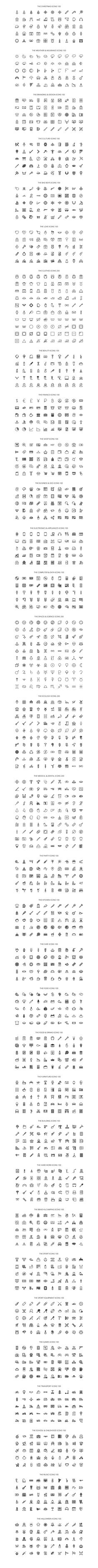 The Icon Bundle 3600 by The Store on @creativemarket
