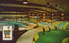 Holiday Inn Holidome- Collinsville, Illinois, stayed at a few of these when I was a kid