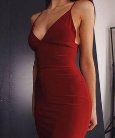 dress, red, and fashion image - Prom Dresses Next Dresses, Pretty Dresses, Beautiful Dresses, Short Dresses, Prom Dresses, Dresses For Work, Fashion Images, Look Fashion, Fashion Models