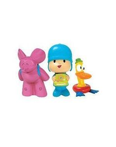 $14.99 Pocoyo Bath Figures 3-Pack 24701. Have fun in the tub and experience Pocoyos world with his friends. Notes: This item is only available to ship to addresses in the USA and Canada. Bandai America requires that this item ships only to North America. Orders Preorders with shipping addresses outside the USA Canada will be cancelled