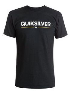 quiksilver, Wordmark T-Shirt, Anthracite (kvj0)