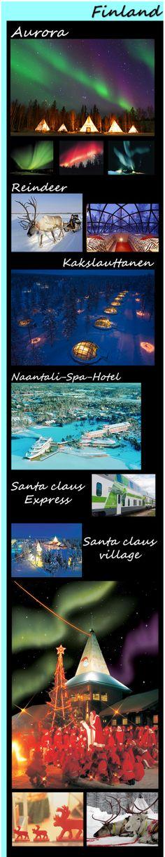 【H.I.S.】【フィンランド】憧れのフィンランドオーロラ紀行8日間。冬のフィンランド人気ナンバーワンのツアーでオーロラを満喫。ガラスイグルーに宿泊&サンタクロース村!Check!→http://bit.ly/18GwNjl #travel #finland