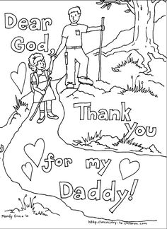 Free printable Father 39 s Day Coloring