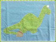 camiseta dinosaurio patchwork