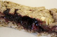 Organic homemade cereal bars