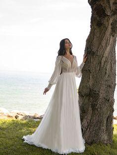 Greek Style Wedding Dress, Buy Wedding Dress, Backless Wedding, Long Wedding Dresses, Lace Wedding, Viking Wedding Dress, Brides Dresses Lace, Maternity Wedding Dresses, Vintage Boho Wedding Dress