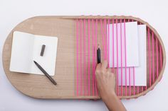 Pocket Storage Tray by Margaux Beja - Design Milk