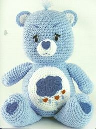 Crochet care bears?!? AWESOME! The Vintage Toy Chest: Crochet Patterns - scroll down for the Care Bears.