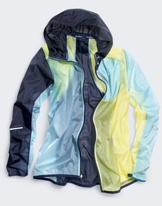 New Balance® for J.Crew packable colorblock jacket.