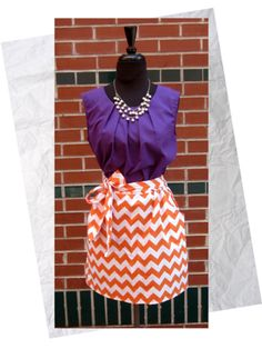 How fun is this Game day dress CLEMSON FANS! Any boutique interested in this dress email me amberhmd@yahoo.com