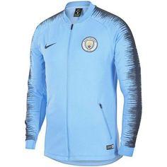 Nike Manchester City 2018 19 Anthem Jacket New Light Blue c352c487e
