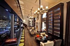 GQ bar and restaurant, Moscow