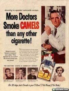 most of them probably died from smoking related illnesses!