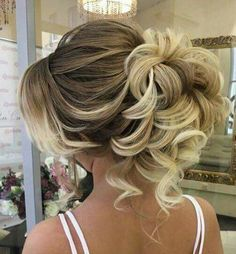 New wedding hairstyles curly updo hairdos Ideas Wedding Hairstyles For Long Hair, Wedding Hair And Makeup, Bride Hairstyles, Pretty Hairstyles, Hair Makeup, Hair Wedding, Short Hair, Easy Hairstyles, Hairstyle Wedding