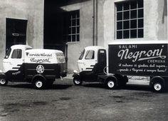 Vecchi veicoli commerciali Negroni