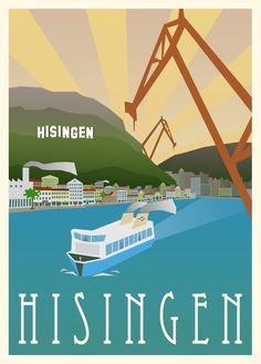 Poster Hisingen (50x70) via I Love Gbg. Click on the image to see more!