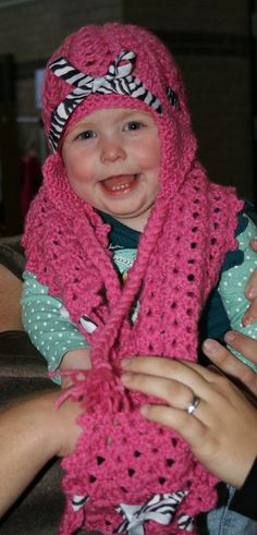 Crocheted hat and scarf set I made