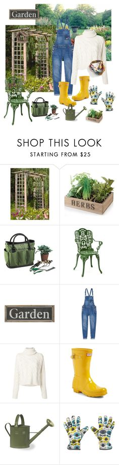 """""""Gardner: dream job styling"""" by sunny-sannie ❤ liked on Polyvore featuring Gothenburg London, Picnic at Ascot, Seletti, MM6 Maison Margiela, Hunter, Orla Kiely, WithChic and contest"""