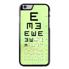 Stylish Sheep Visual Testing Chart Pattern Phonecase For iPhone 6/6S Case Brand new.Lightweight, weigh approximately 15g.Made from hard plastic, also available for rubber materials.The case only covers the back and corners of your phone.This case is a one-piece case that covers the back and sides of the phone. There is no front for the case.This is a non-peeling nor a non-fading print. Meaning, over time it will continue to look just as amazing as it did when you first received it.
