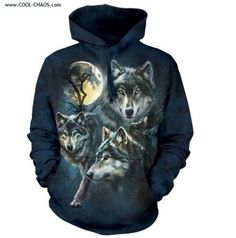Moon Wolves Collage Hoodie Hooded Sweatshirt sold by Celtic Wolf Fragrances. Shop more products from Celtic Wolf Fragrances on Storenvy, the home of independent small businesses all over the world. Wolf Hoodie, Wolf T Shirt, Blue Hoodie, Hoodie Sweatshirts, Wolf Moon, 3d T Shirts, 3d Prints, Look Cool, Sweatshirts