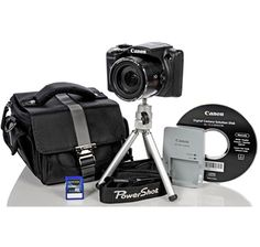 Canon PowerShot Optical Zoom Digital Camera Bundle with SD Card, Tripod and Carry Case Canon Powershot, Sd Card, Tripod, Digital Camera, Bags, Handbags, Digital Camo, Dime Bags, Digital Cameras