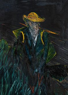 Francis Bacon, Study for Portrait of Van Gogh I, 1956