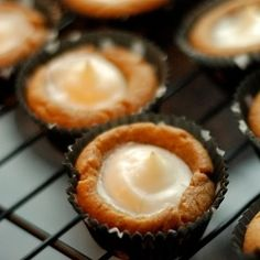 Cheesecake ginger bread bites