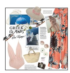 """Bon Voyage!"" by wodecai ❤ liked on Polyvore featuring Tim Holtz, Clube Bossa, ADRIANA DEGREAS, Littledoe, Capri Positano, Monki and Urbiana"